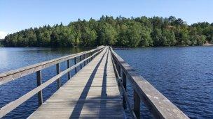 Gångbro över Delsjön